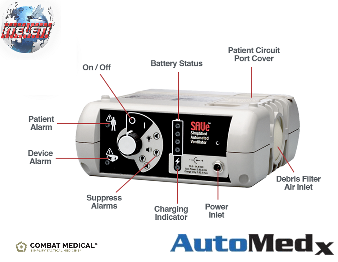 Automedx SAVe Ventilator 101